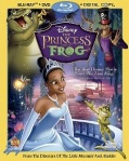 The Princess and The Frog Blu-Ray cover