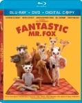 Fantastic Mr. Fox Blu-Ray cover