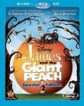 James and The Giant Peach Blu-Ray cover