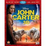 John Carter 3D cover