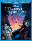 The Hunchback Of Notre Dame 1 and 2 Blu-rays