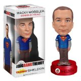 Funko The Big Bang Theory Talking Sheldon Wacky Wobbler Bobble-Head