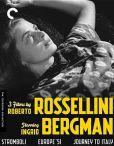 3 Films By Roberto Rossellini Starring Ingrid Bergman Blu-ray