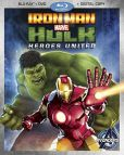 Iron Man and Hulk- Heroes United Blu-ray