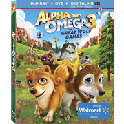 Alpha and Omega 3- The Great Wolf Games Blu-ray-DVD Combo