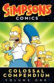 Simpsons Comics Colossal Compendium Volume One Graphic Novel
