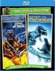 Godzilla Against Mechagodzilla-Godzilla, Mothra, King Ghidorah- Giant Monsters All-Out Attack Blu-ray
