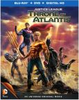 Justice League- Throne Of Atlantis Blu-ray