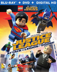 Lego DC Comics Super Heroes- Justice League- Attack of the Legion of Doom Blu-ray