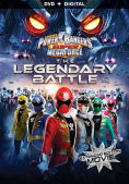 Power Rangers Super Megaforce- The Legendary Battle DVD