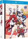 High School DxD Season 1 Blu-ray-DVD Combo Pack