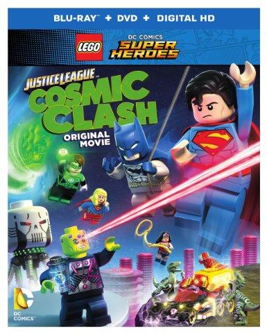 Lego DC Comics Super Heroes- Justice League- Cosmic Clash Blu-ray