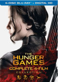 The Hunger Games 4 Film Collection Blu-ray