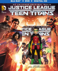 Justice League Vs. Teen Titans Blu-ray